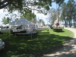 The Setup of the DeckHardware Van