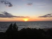 Sunset over Port Phillip Bay