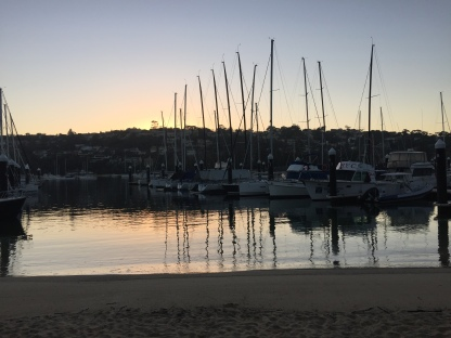 Dawn at Middle arbour Yacht Club