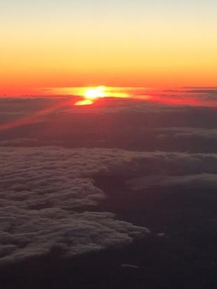 Sunset over Bass Strait