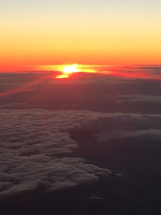 Sunset over Bass Strait