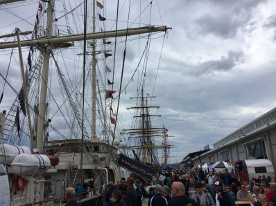 Queuing for the Tall Ships