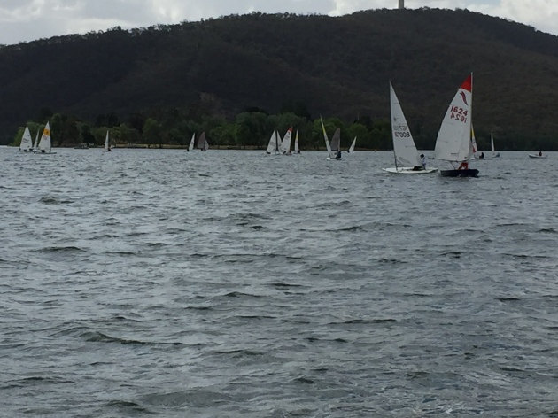 Sailing in Canberra